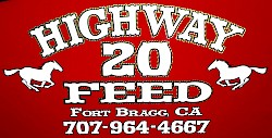Highway 20 Feed logo
