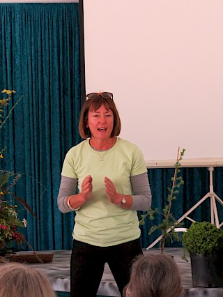 Sara Malone was a lively presenter. gallery image