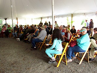 Conifer Day attracted around 75 attendees. gallery image