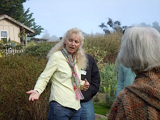 Learning garden design with MCBG Board member, Kate Frey gallery image