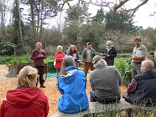 Training in the MCBG Vegetable Garden gallery image
