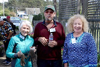 Show workers Kathy, Ken, and Fran | Photo by Dick Jones, Noyo Chapter American Rhododendron Society gallery image