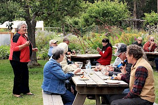 Annual June Potluck & Meeting in the Vegetable Garden gallery image