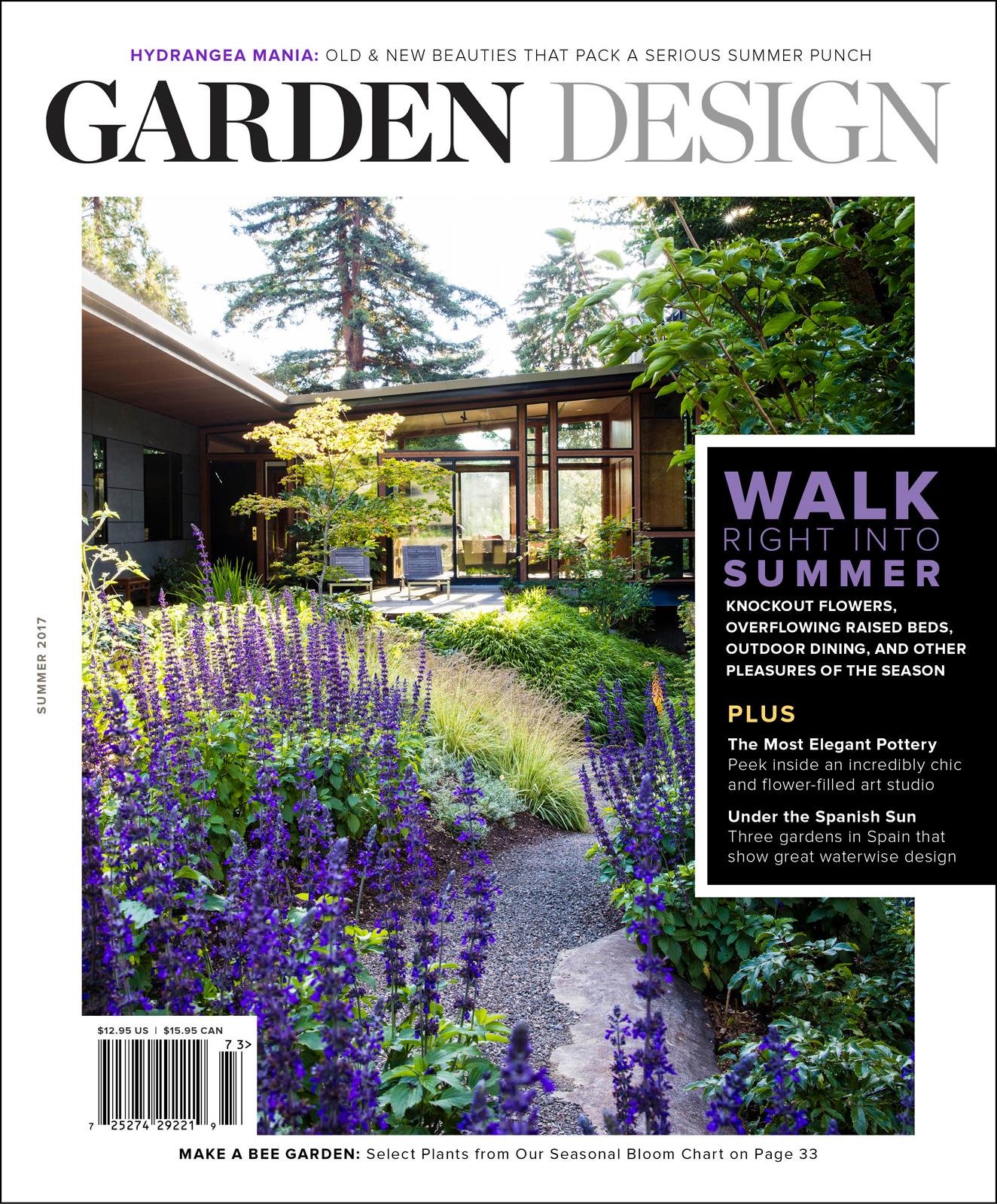 Special offer for mcbg members membership mcbg inc for Garden design journal