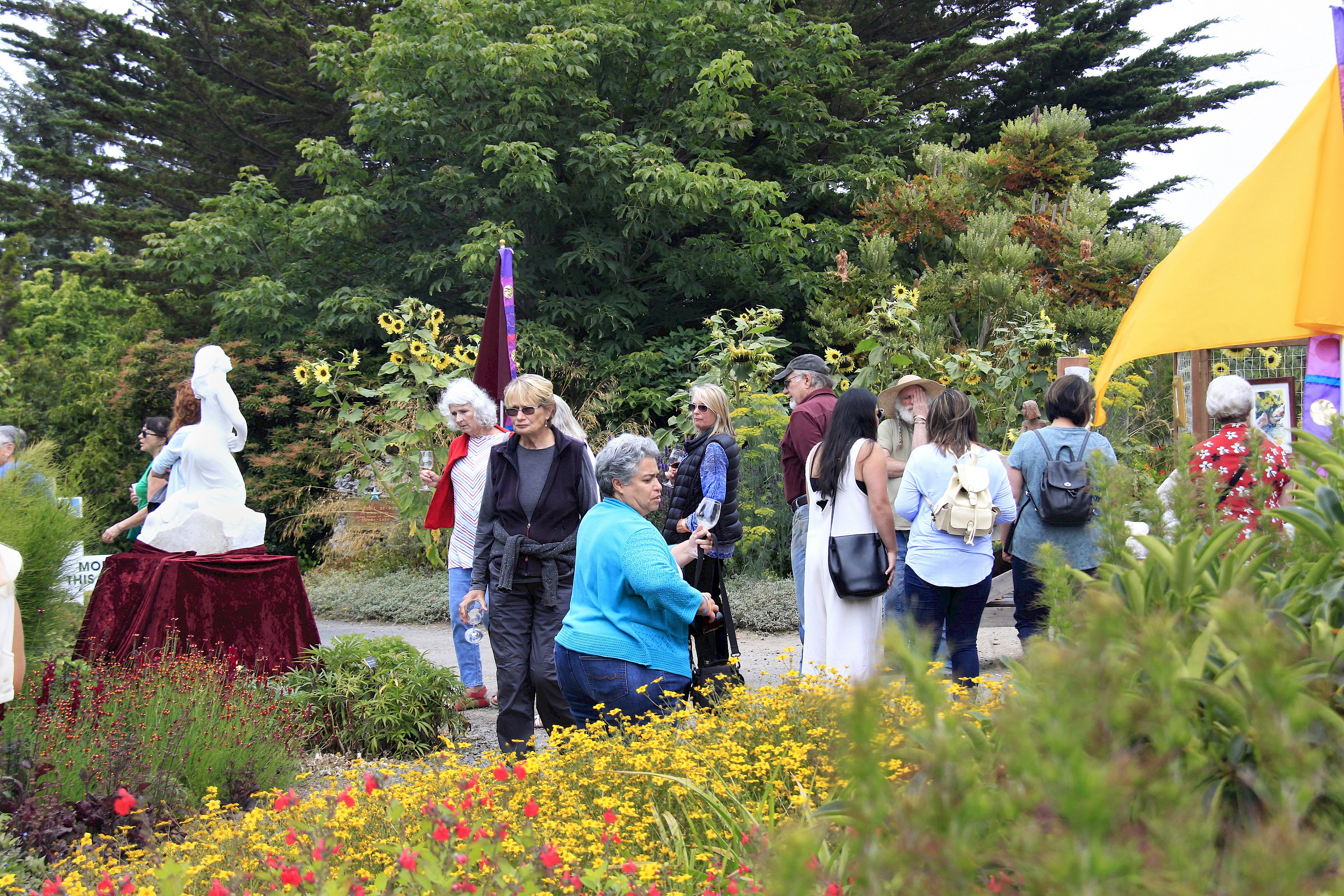 Art In The Gardens 2018 Past Events Mcbg Inc 2018 Fort Bragg